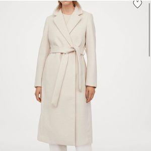 Maroon H&M coat
